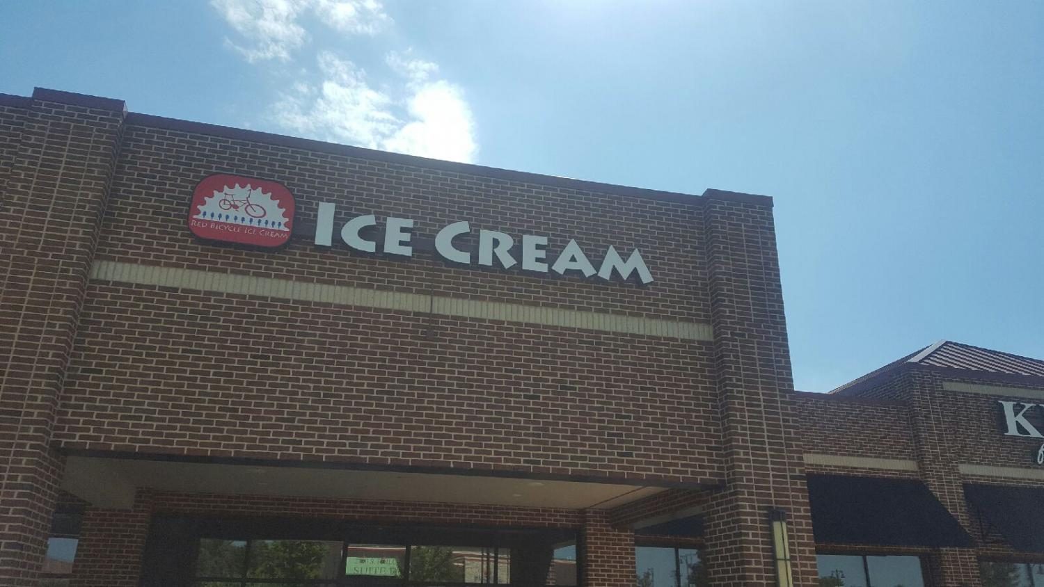 Red Bicycle Ice Cream opened in Urbana on Independence Day. Using cream from a local farm, locals will have over 16 ice cream flavors to choose from.