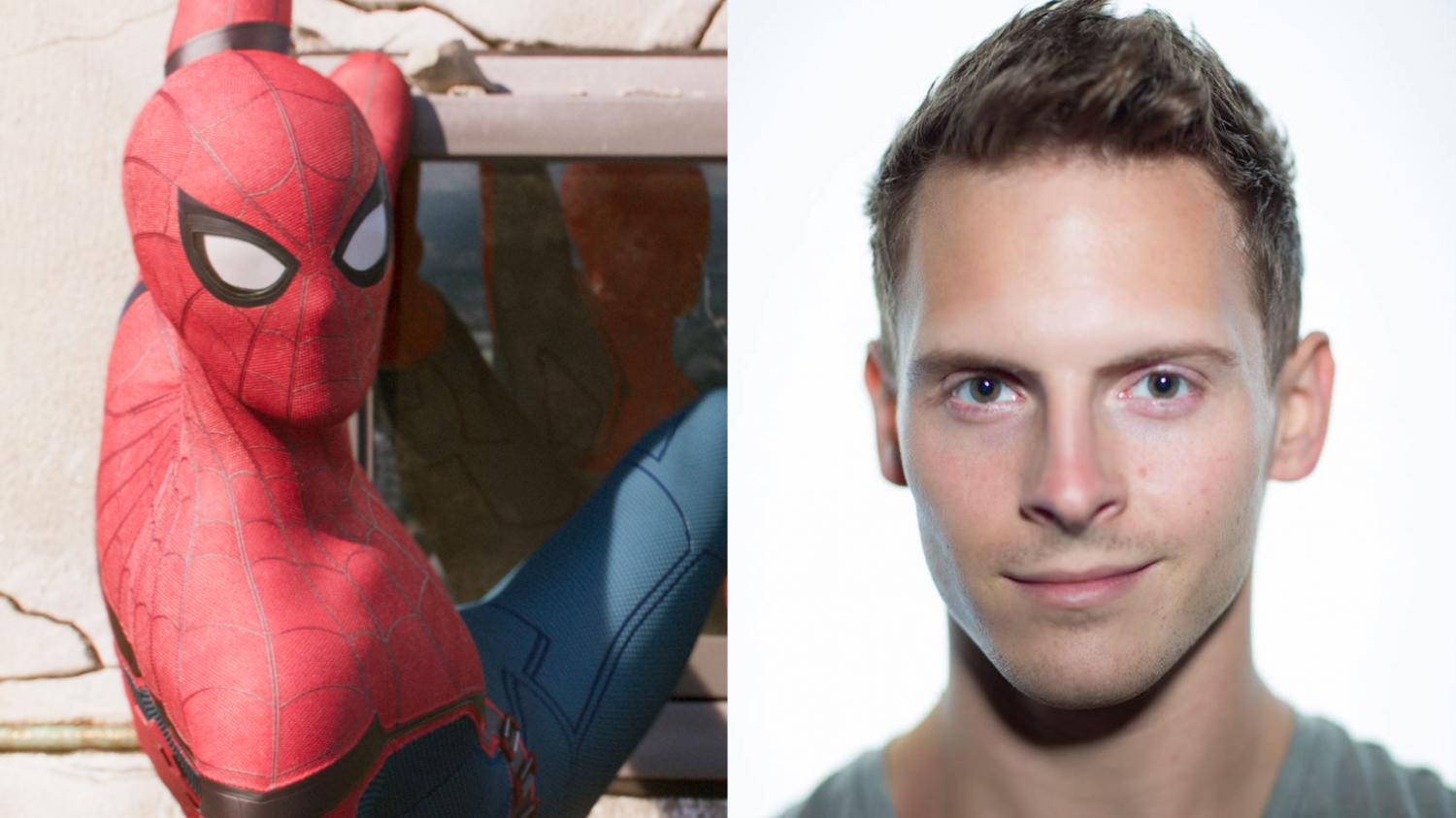 Chris Silcox, an Illinois alum and ex-NCAA gymnast, landed a role in Spider-Man: Homecoming as a stunt double.
