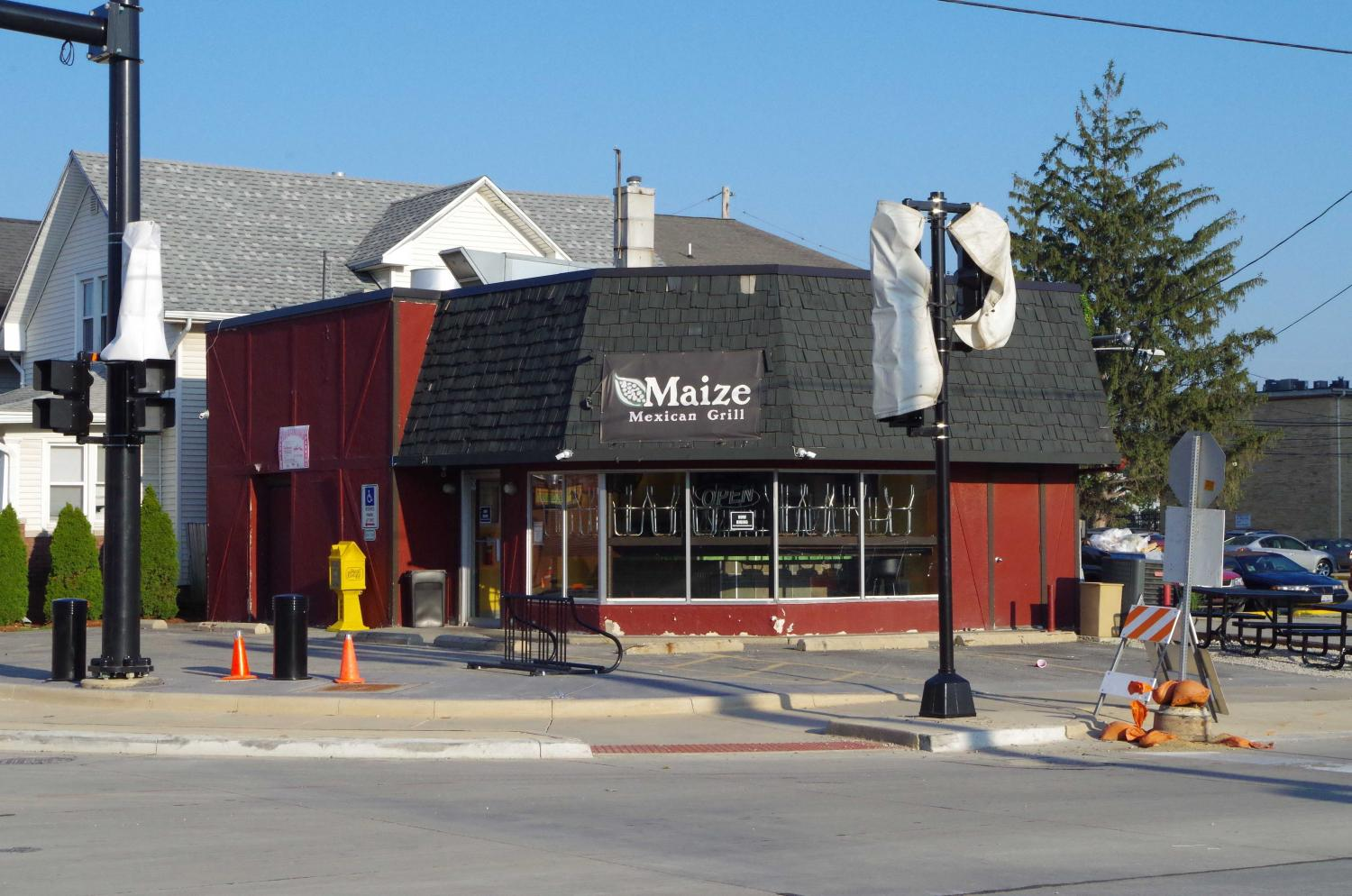 Over the summer, the Maize on First and Green Street closed due to lack of access from   delayed construction.