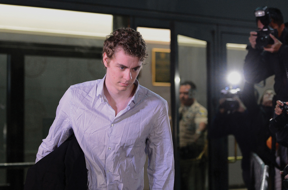 Brock Turner leaves the Santa Clara County Main Jail on Friday, Sept. 2, 2016 in San Jose, Calif. California Gov. Jerry Brown has signed legislation expanding the legal definition of rape and imposing new mandatory minimum sentences on some sexual assault offenders -- measures inspired by outcry over Turner's sexual assault case. (Dan Honda/Bay Area News Group/TNS)