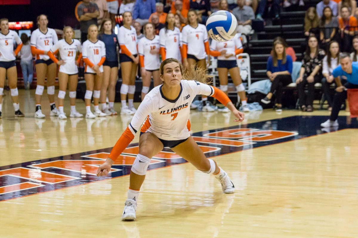 Illinois Volleyball Starts Big Ten Play With Two Road Wins
