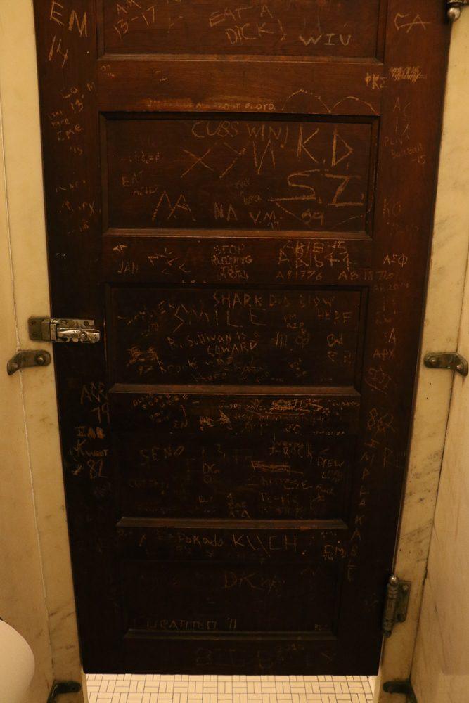 Graffiti+on+a+bathroom+stall+in+Altgeld+Hall.