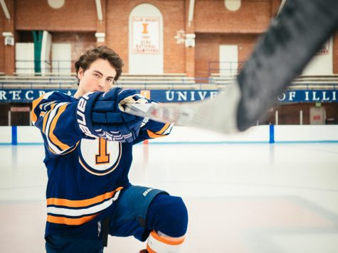 Illini of the Week: McGing back into his routine, on and off the ice