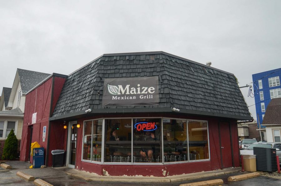 Maize+Mexican+Grill+is+located+at+60+E.+Green+Street+in+Champaign.