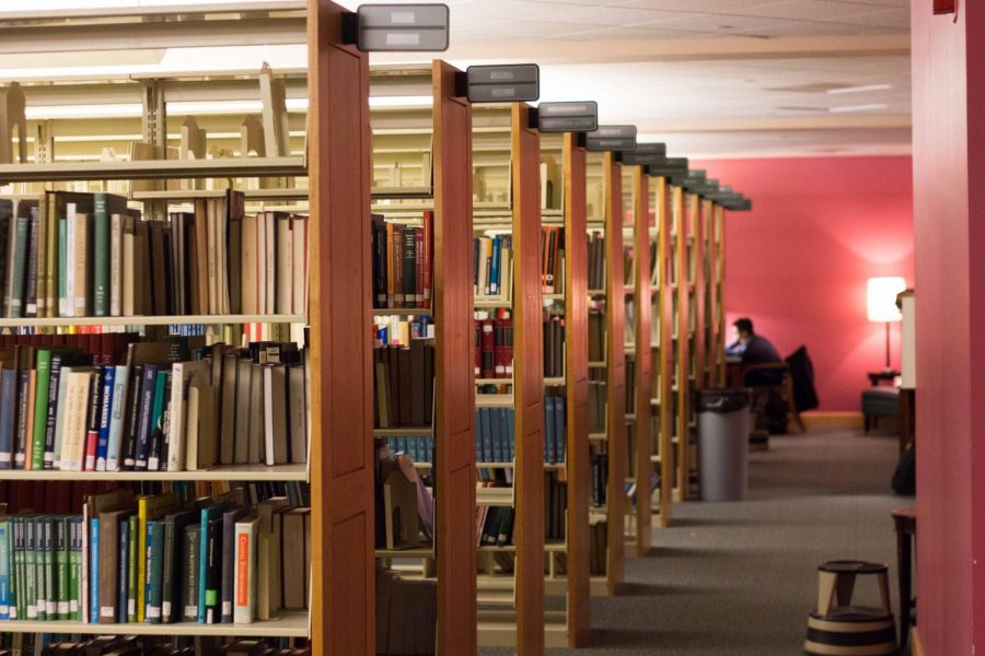 In an environment where libraries are used more for study time than for actual document research, Grainger Engineering Library is answering students' needs by sending out hundreds of thousands of print materials in favor of more tables and study spaces.