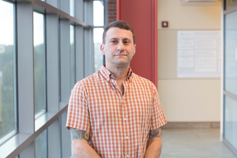Portrait of new Computer Science Professor, Dr. Albert Harris