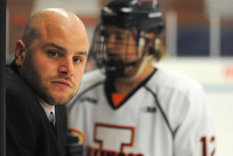 Justin Reis steps up for Illini in wake of Ernsting injury