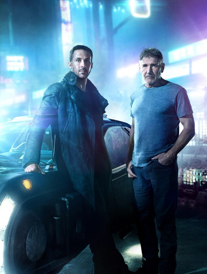 Ryan Gosling and Harrison Ford in Blade Runner 2049 movie.  (Warner Bros. Pictures)