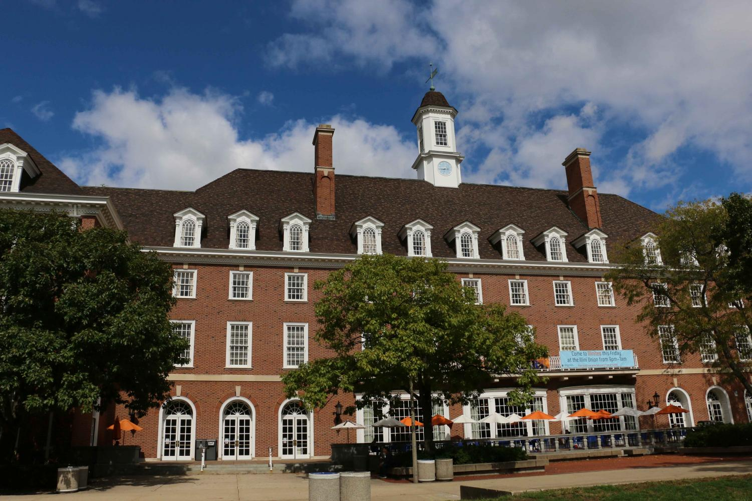 The Illini Union has been standing for 77 years.