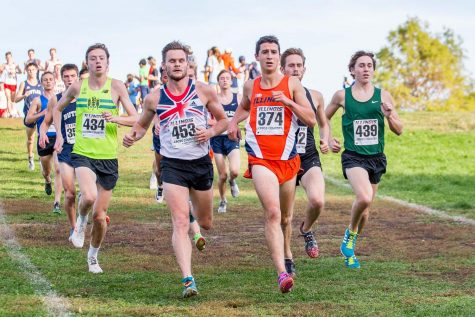 Illinois cross country closes out regular season at home