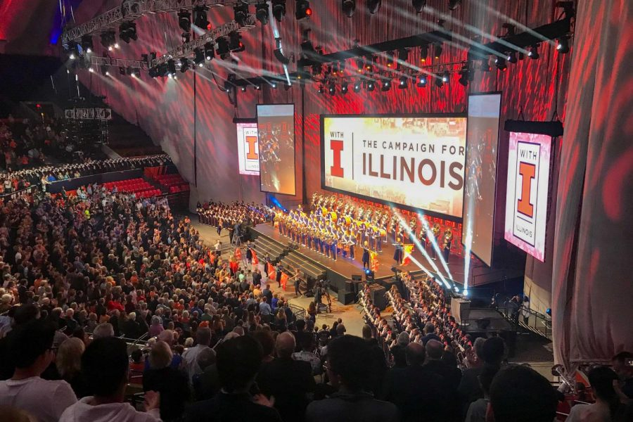 'With Illinois' campaign raises almost half of $2.25 billion goal