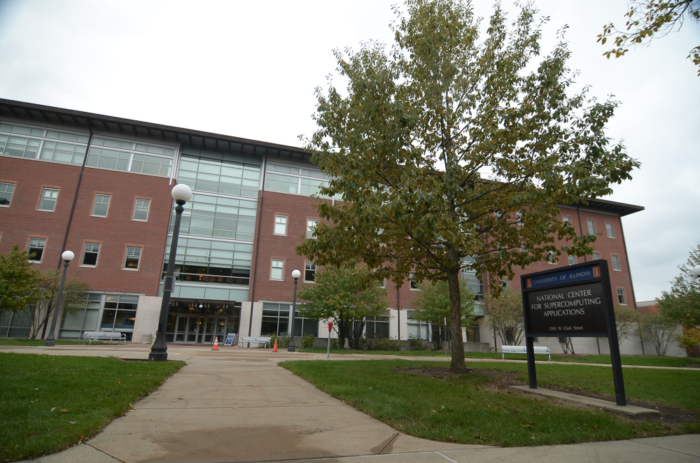 The National Center for Supercomputing Applications is located at 1205 W Clark Street in Urbana.