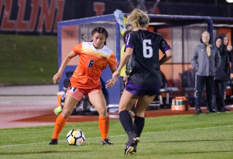 Illini fall to the Badgers in a close contest