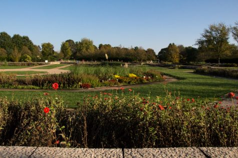 The Miles C. Hartley Selections Garden on Oct. 13. The garden is a gift from family and friends of alumnus and former UI faculty member Miles C. Hartley. It is part of the Arboretum  on the south side of campus. Take your family to visit this weekend and enjoy Illinois' natural beauty.
