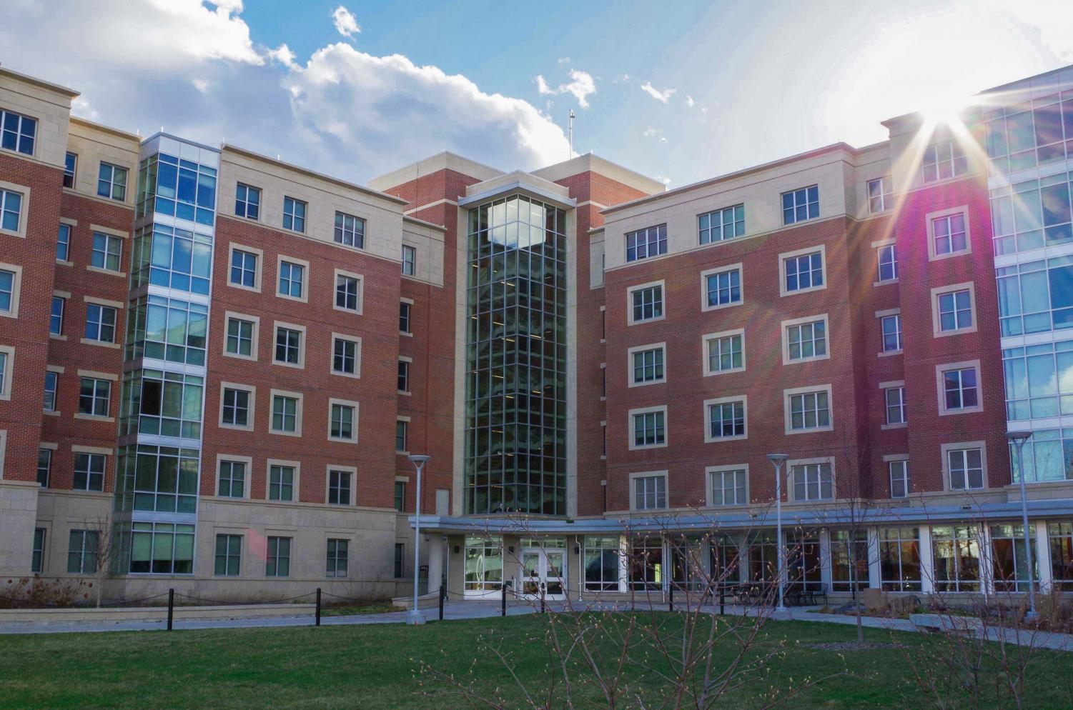 Bousfield Hall is one of the newest University Housing residence halls.