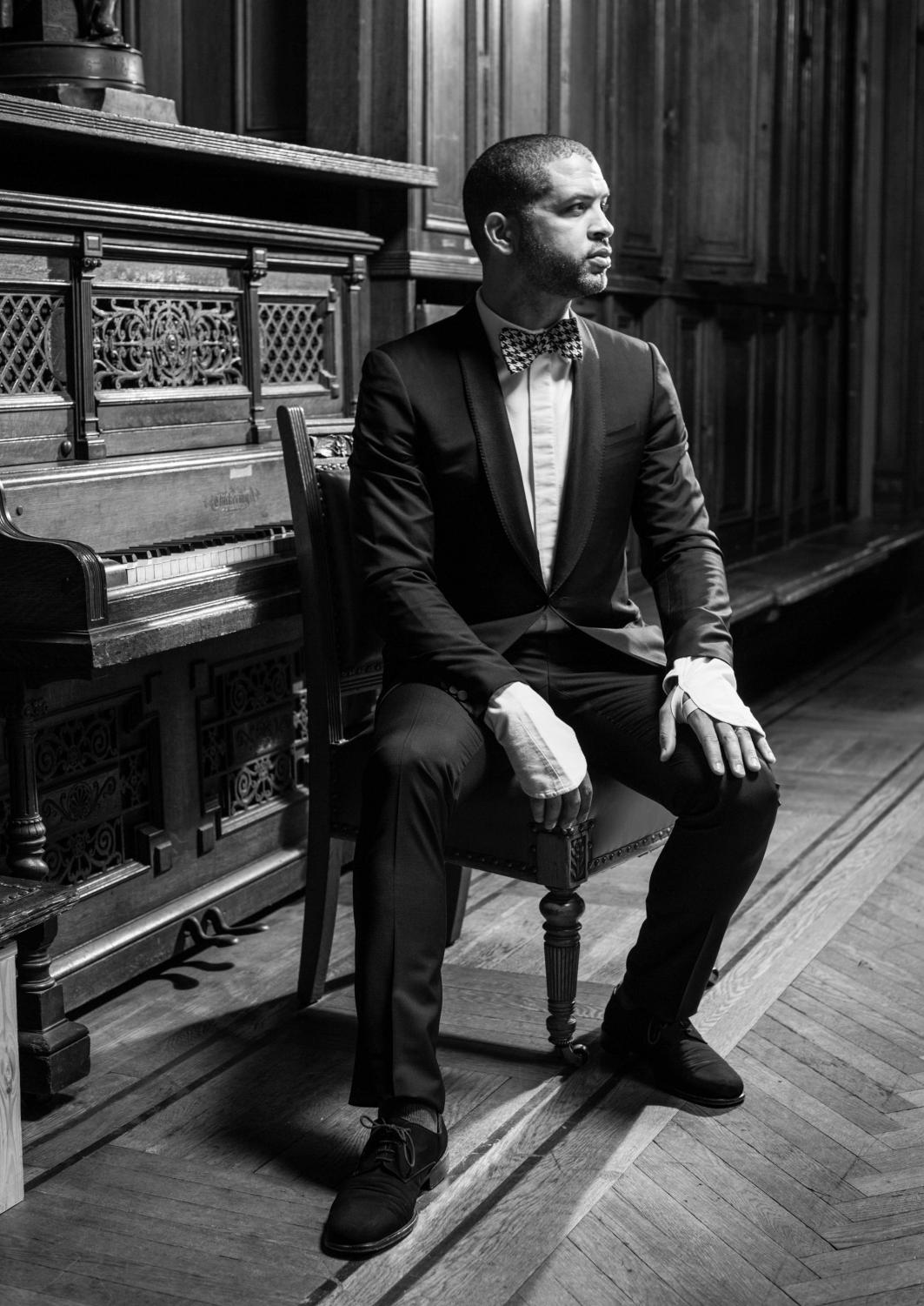 Portrait of Jason Moran.