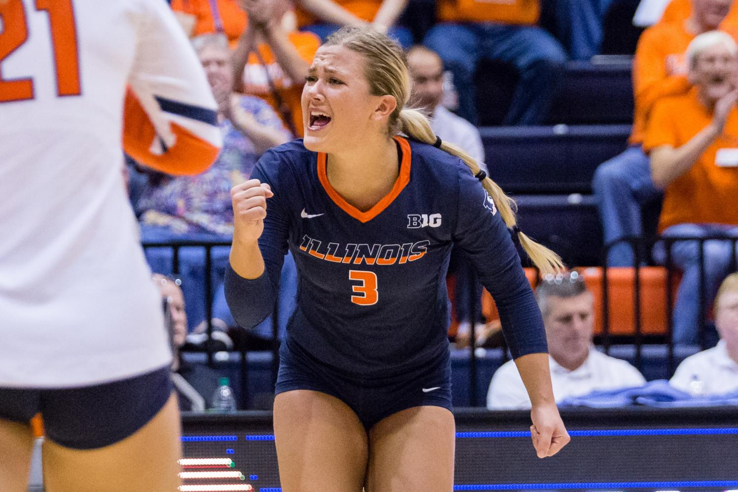 """Sports editor Cole Henke says, """"Volleyball has been the most consistently fun sport at this University for more than four years."""""""