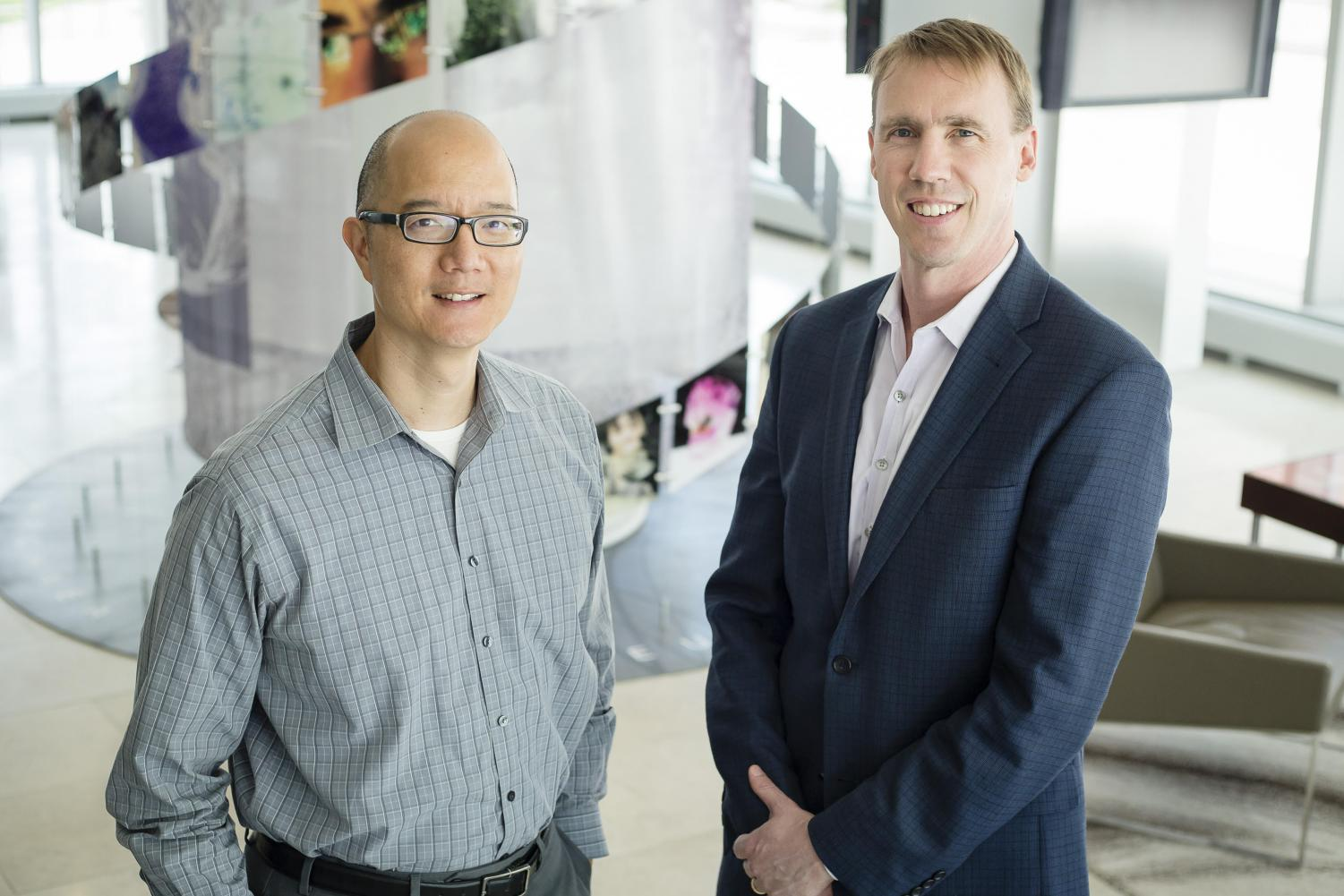The University's veterinary oncologist Timothy Fan and chemistry professor Paul Hergenrother have worked for over a decade on a new drug to combat brain cancer.