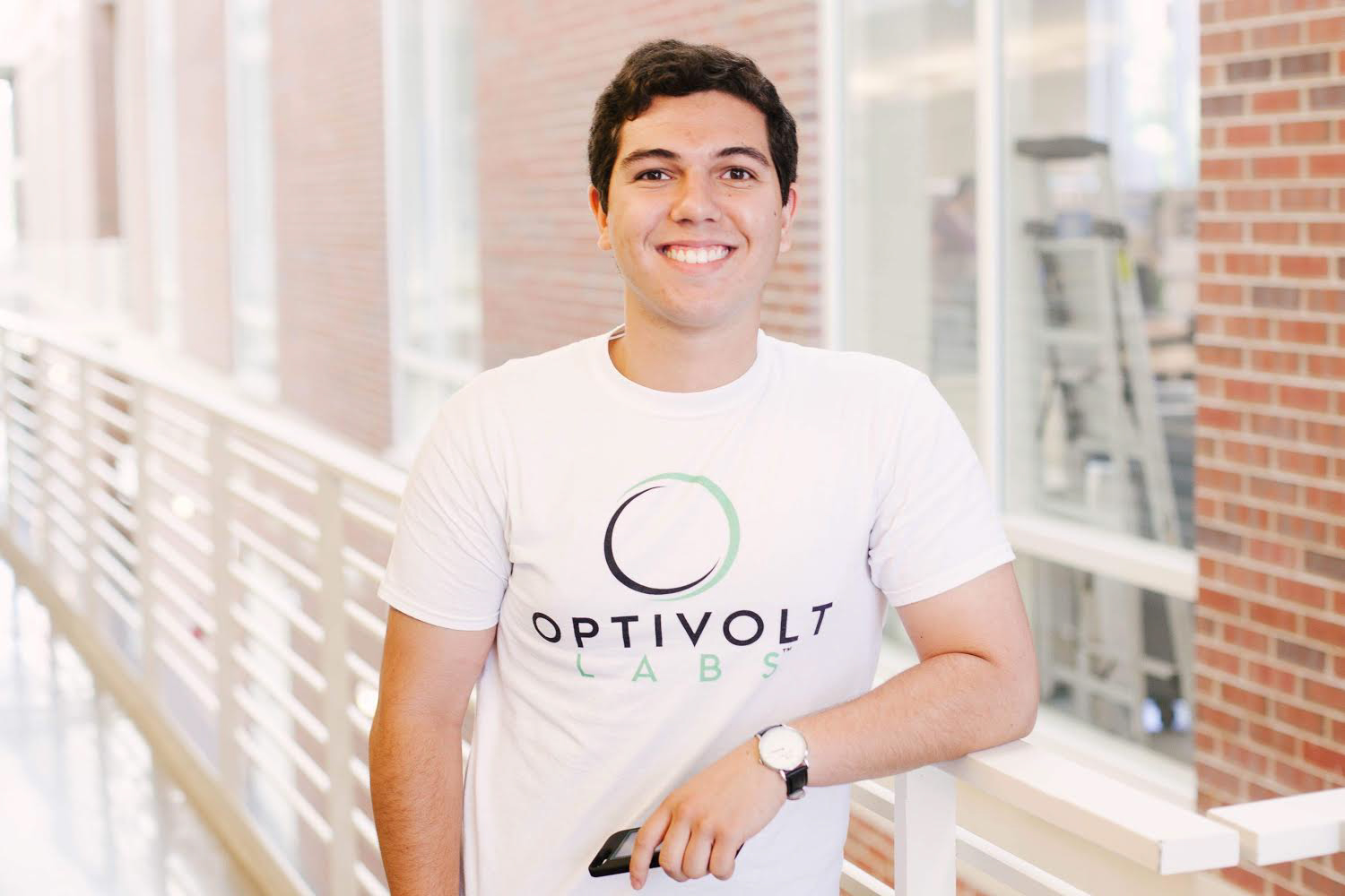 Paul Couston is a junior in Industrial Engineering. At the age of 20, he has built his own company that sells solar-powered iPhone cases with the help of his co-founder, Rohit Kalyanpur.