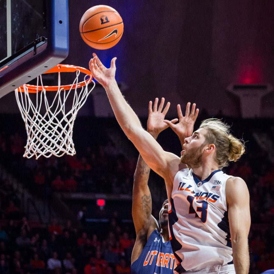 Photo Gallery: Illini Men's Basketball vs Tennessee-Martin