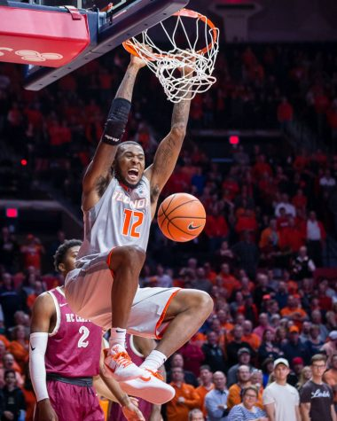 Photo Gallery: Illini Men's Basketball vs North Carolina Central