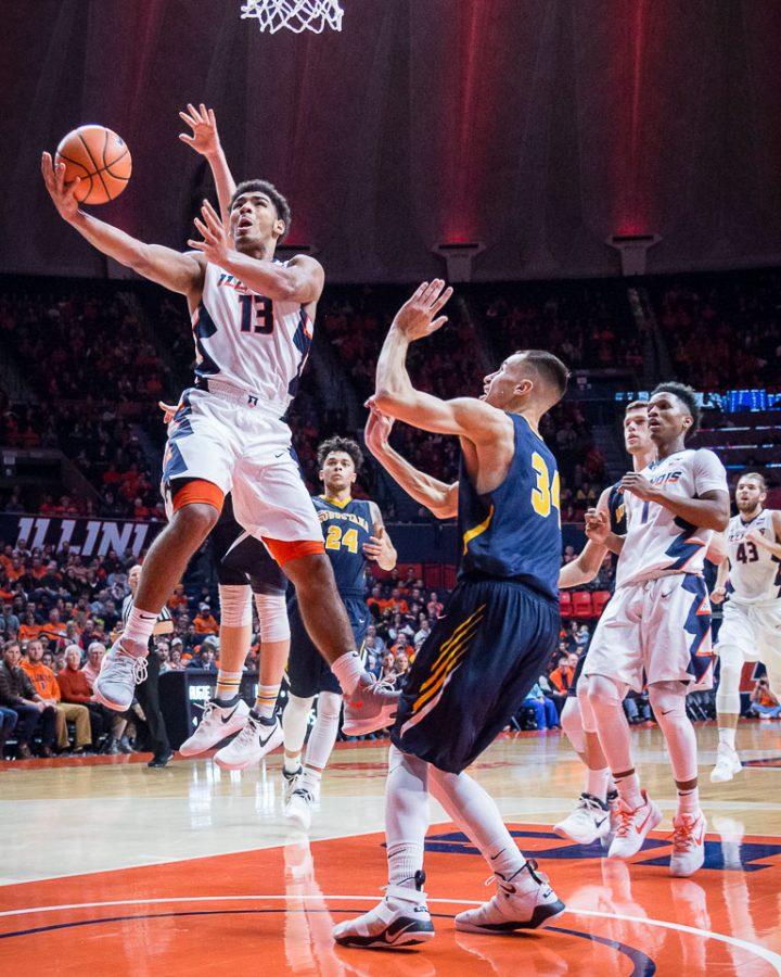 Photo Gallery: Illini Men's Basketball vs Augustana