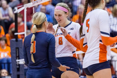 Illinois women's gymnastics go undefeated in doubleheader weekend