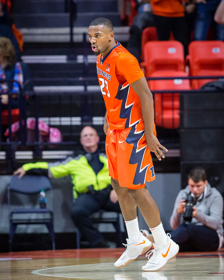 Illini scrape past Austin Peay to end skid