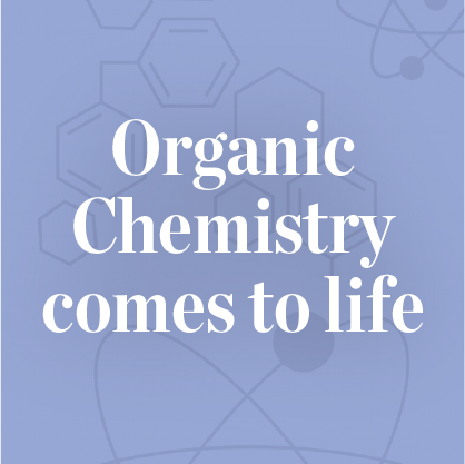 Organic chemistry comes to life