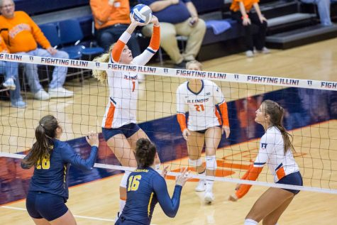Illinois volleyball gears up for spring season