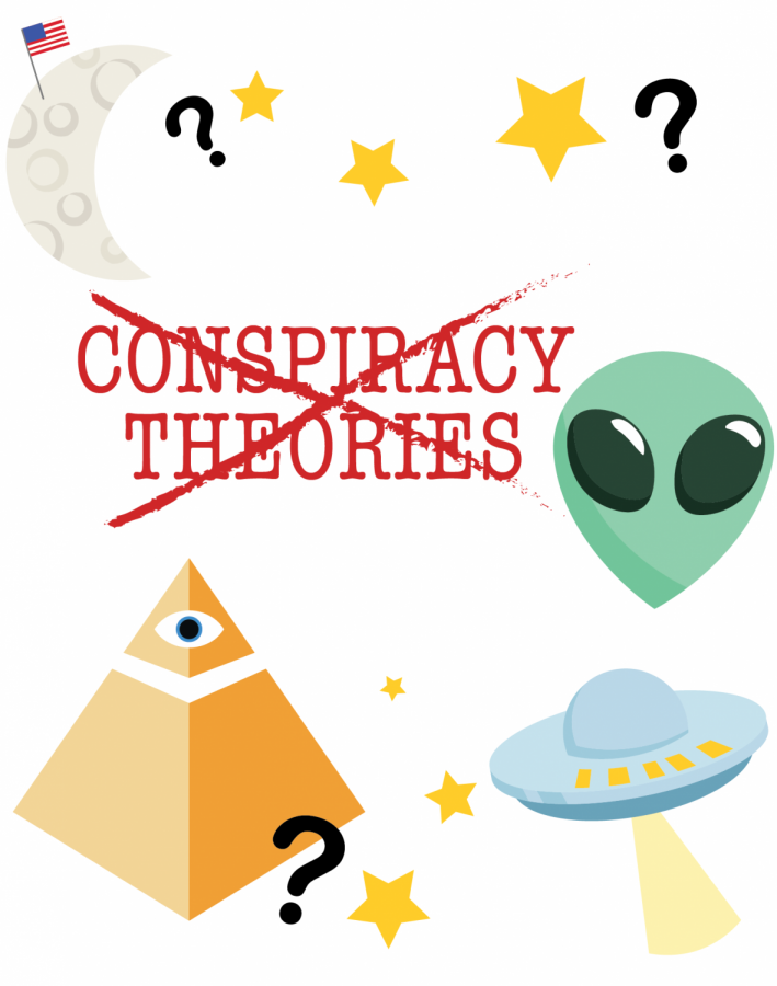 Don't buy into false conspiracy theories