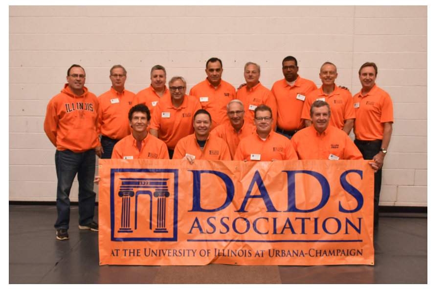 Illini Dads Association is a group that organized all of the Dads Weekend activities each year. The group also offers scholarships and donates to several clubs on campus.
