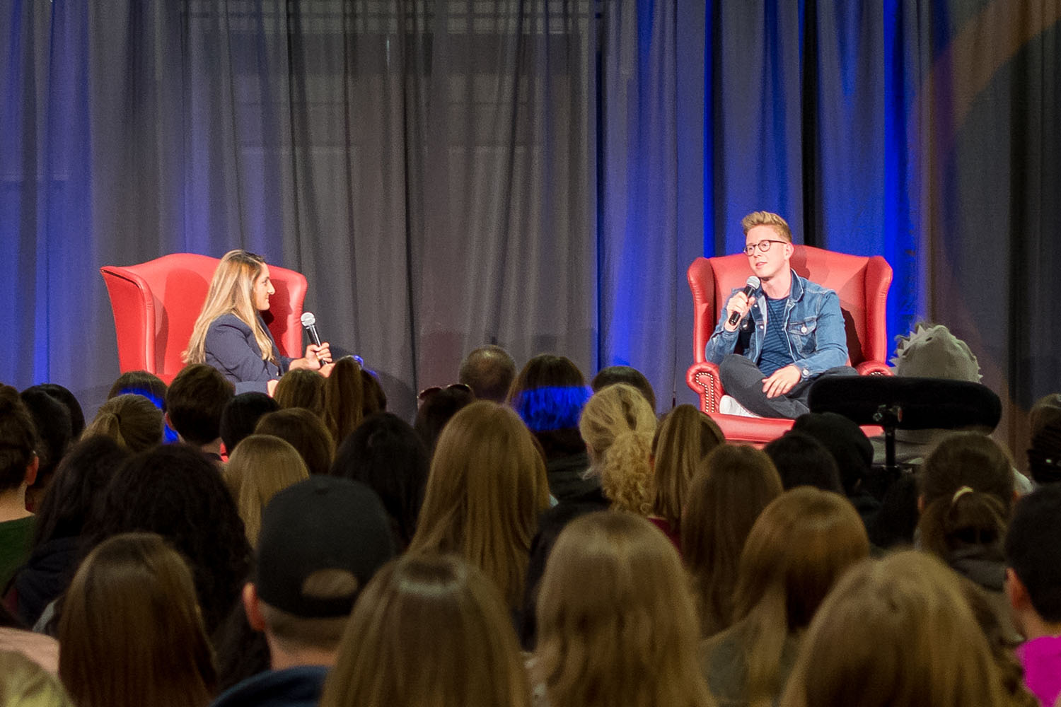 YouTube and podcast personality Tyler Oakley speaks to the campus community in the Illini Union I-Rooms on Thursday, Nov. 9, 2017 at 7 p.m. In this free event, Tyler spoke about everything from his coming out story and current activism to his experience meeting the Obama family.