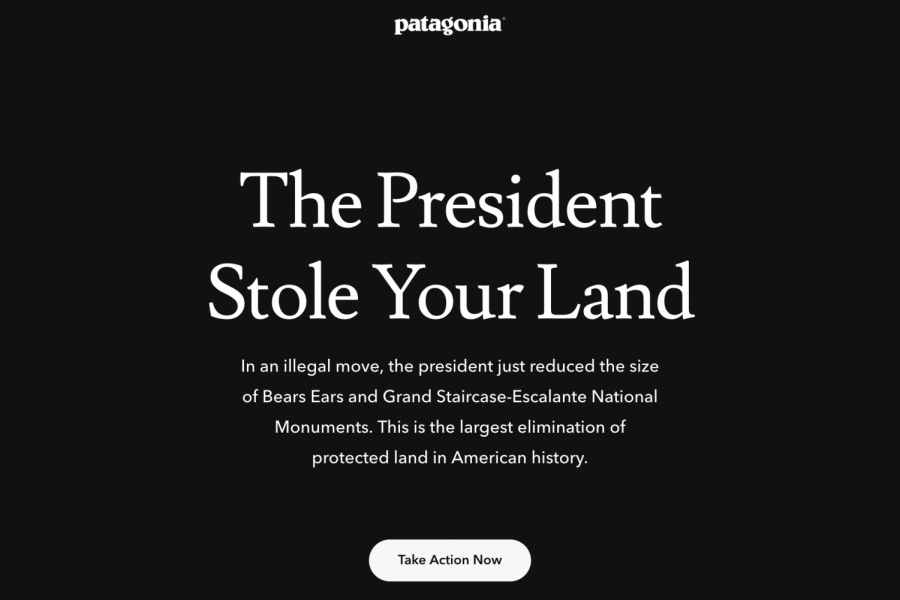 Don't let President Trump steal our land