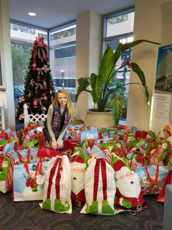 Student supports teens battling cancer through Stockings for Strength