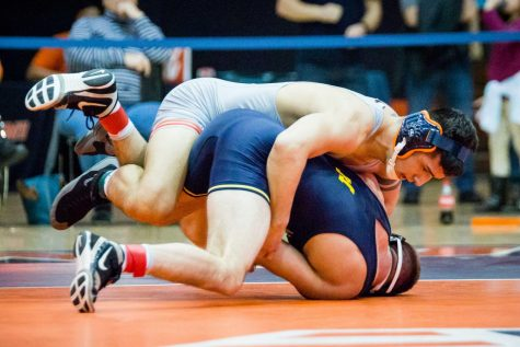 Duncan shines as Illinois wrestling defeats Purdue