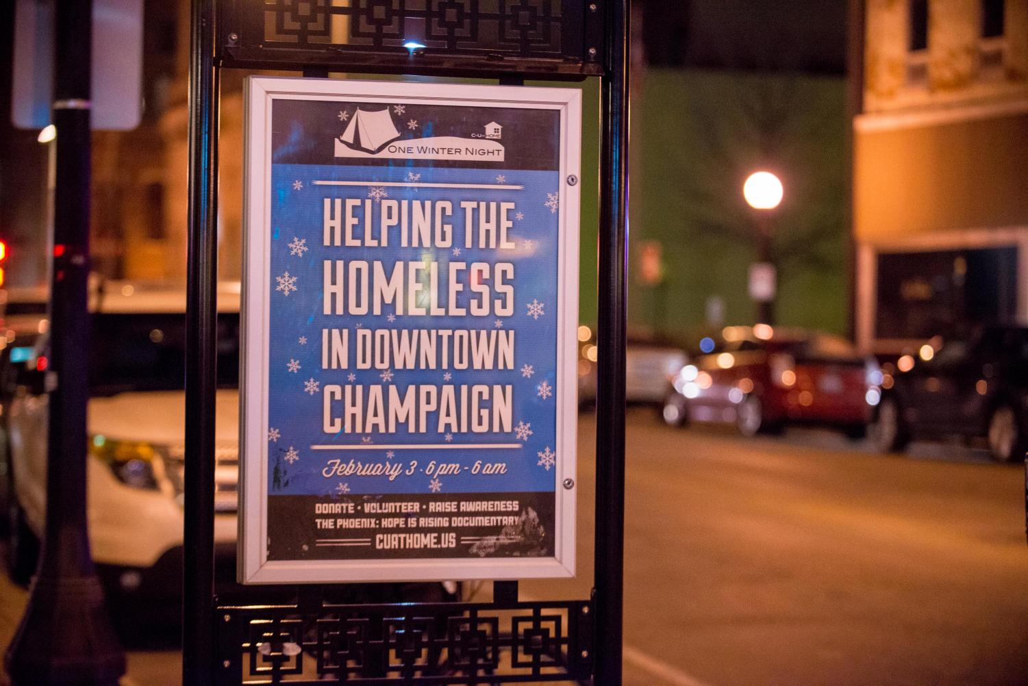 One Winter Night aims to raise awareness for the homeless community in Champaign-Urbana.