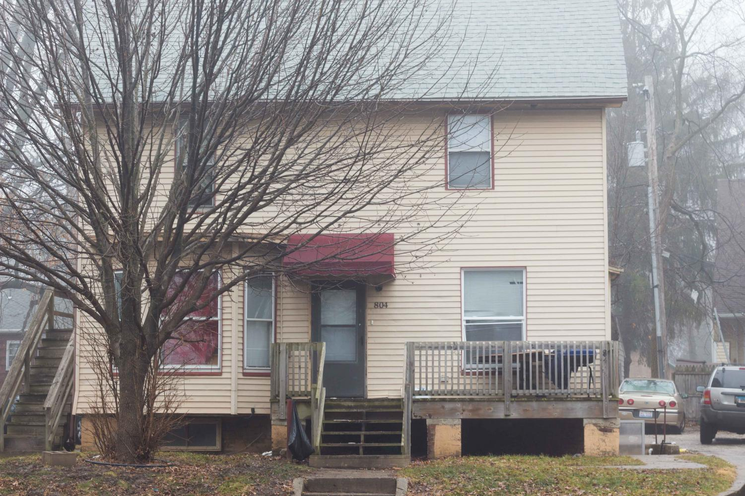 A house on 804 W. Springfield Ave. A shooting occurred at this address during the early in the morning on Jan 20.