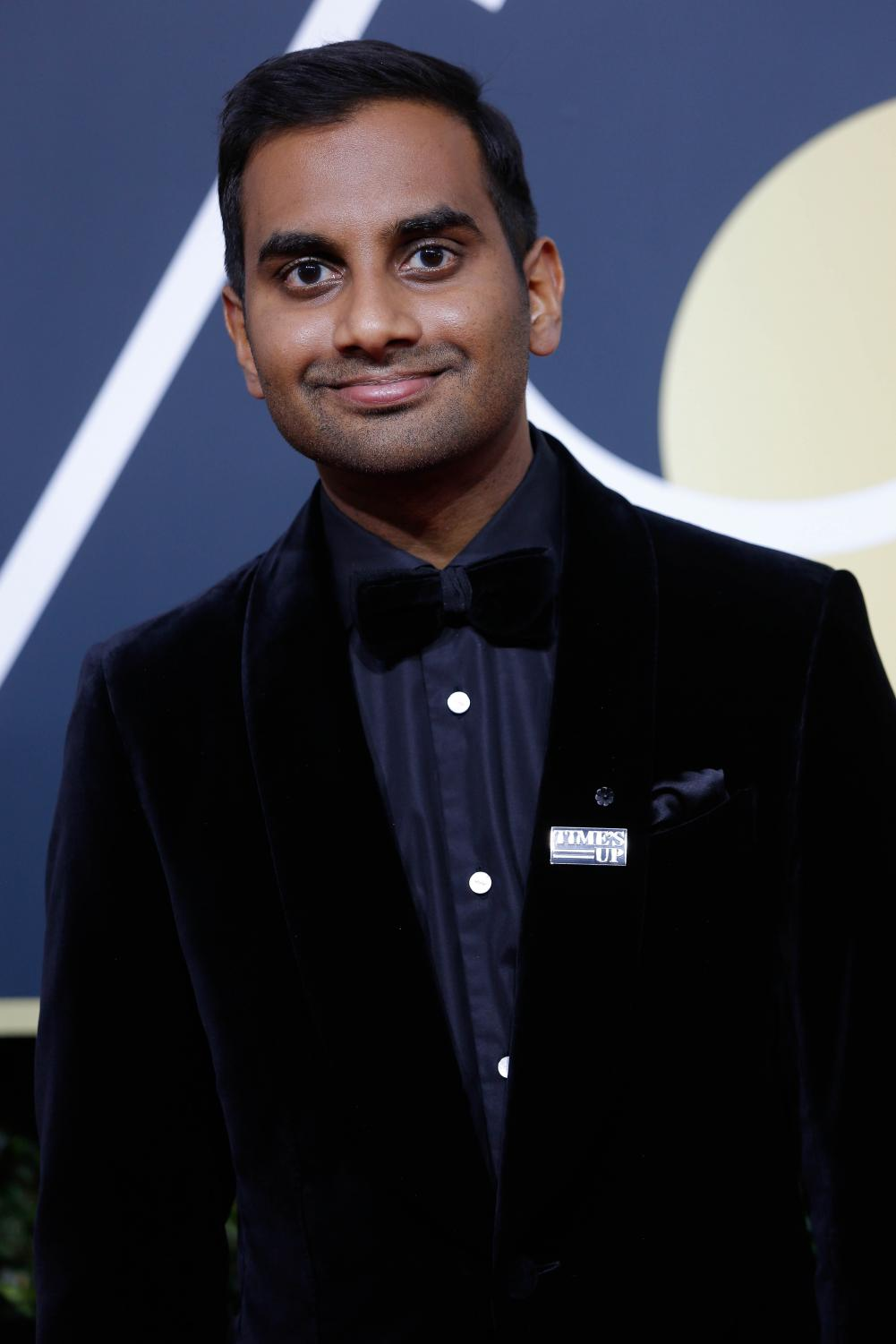 Aziz Ansari arrives at the 75th Annual Golden Globes at the Beverly Hilton Hotel in Beverly Hills, Calif., on Sunday, Jan. 7, 2018.