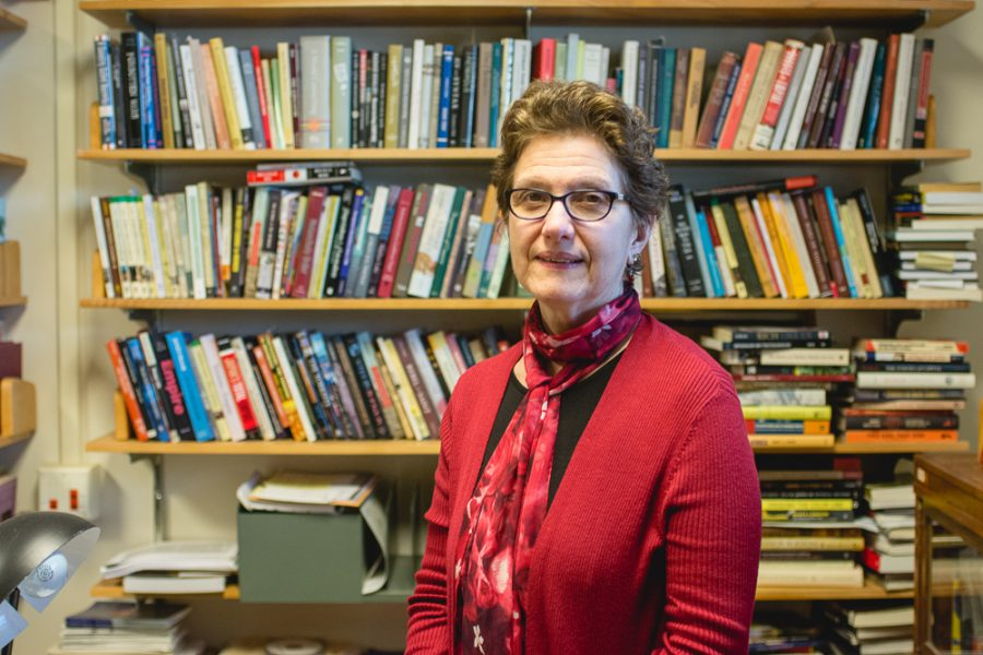 Professor+Antoinette+Burton+is+one+of+four+faculty+members+at+the+U+of+I+who+were+named+endowed+chairs.+Burton+is+the+director+of+the+Illinois+Program+for+Research+in+the+Humanities.