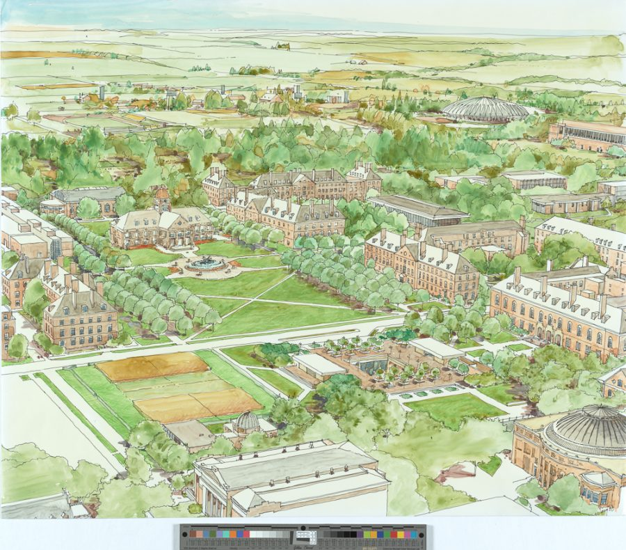 Interactive Map Shows Campus Layout Changes The Daily Illini