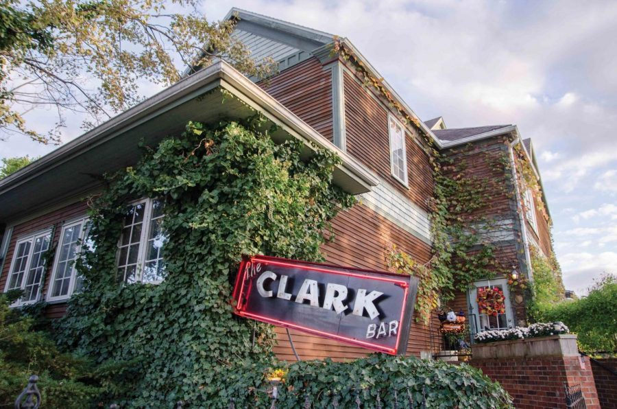 Clark+Bar+is+located+at+207+W+Clark+St%2C+Champaign%2C+IL+and+is+open+5+PM+-+2+AM+Tuesday+through+Saturday.