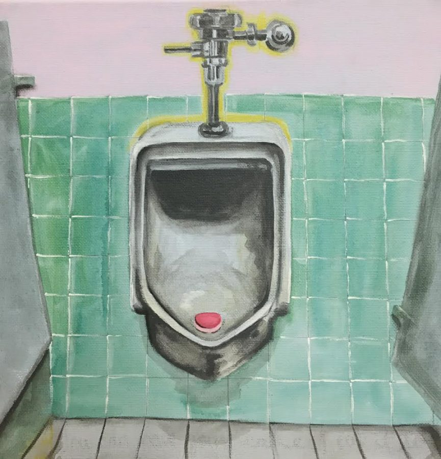 %22You+Can+Have+Your+Cake+and+Eat+It+Too%22+by+Rachel+Kinney+depicts+a+urinal+cake+inside+of+a+urinal.+The+painting+is+supposed+to+convey+a+message+to+all+men%2C+especially+men+in+power%2C++who+have+ever+sexually+assaulted+or+harassed+a+woman.+