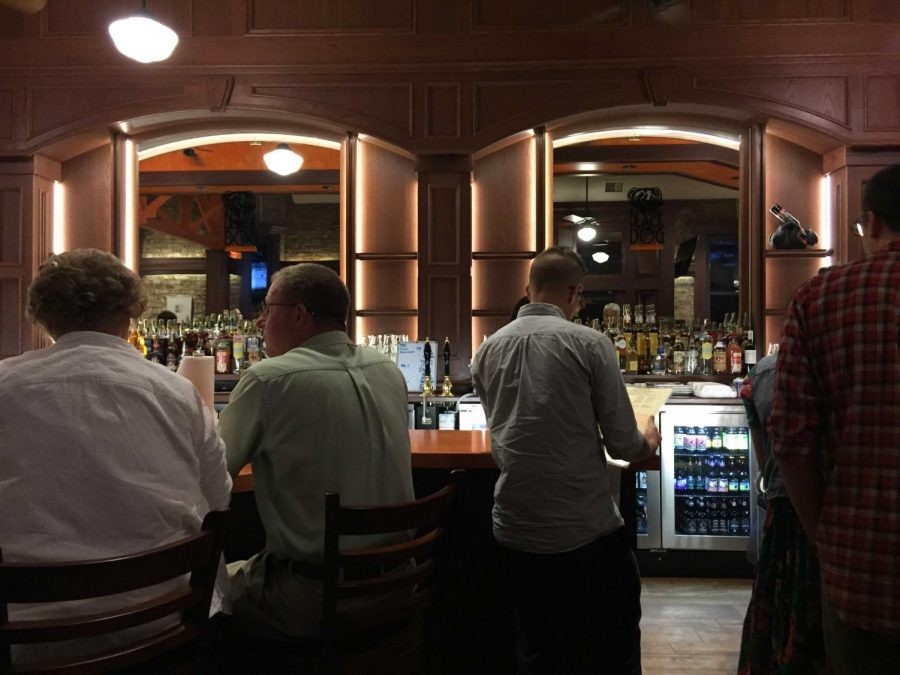 With two locations in Champaign-Urbana, Black Dog Smoke & Ale House is a popular destination for a date night. The restaurant doesn't take reservations, so make sure to come early, or stay late.