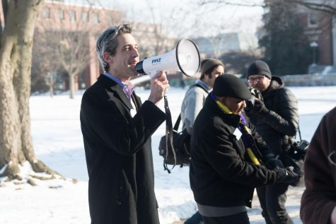 Rally for Illinois Democratic gubernatorial candidate Daniel Biss