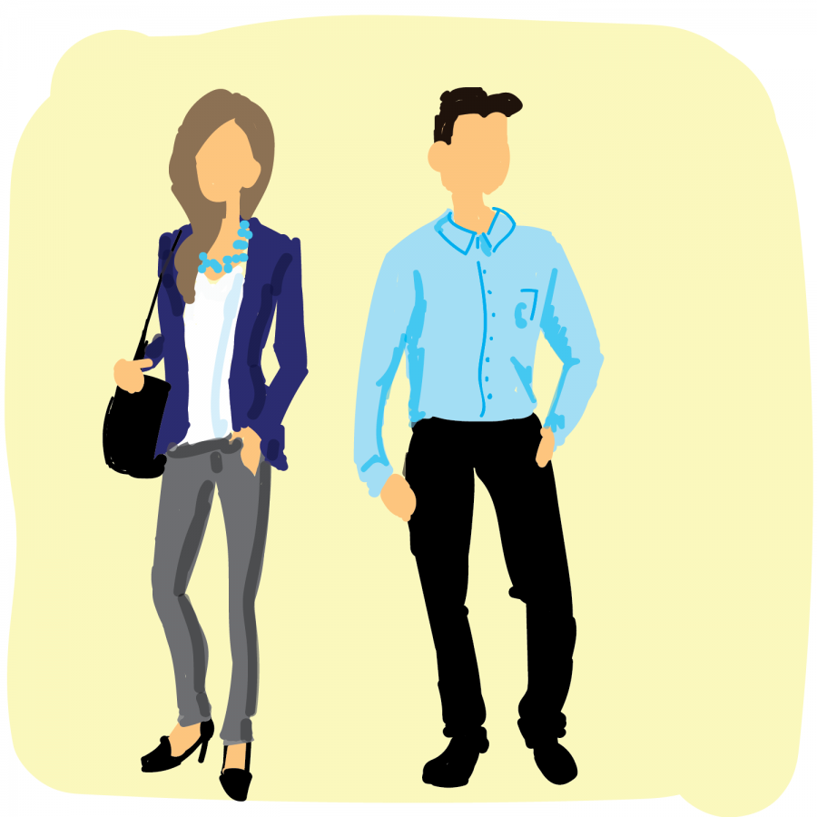 Career closet helps students better prepare for interviews