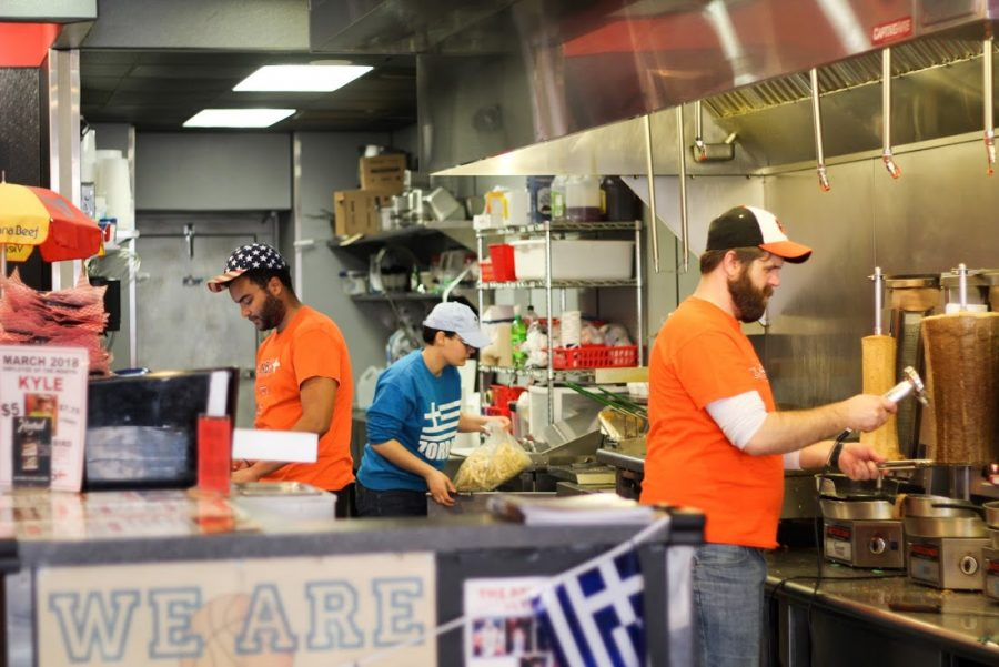 Zorbas%2C+a+Mediterranean+restaurant+located+on+Green+Street%2C+has+been+running+for+45+years.+