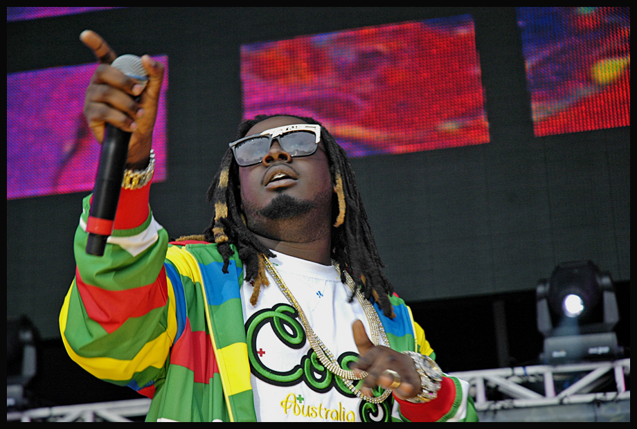 T-Pain performs at Hot 97's Summer Jam festival in 2007.