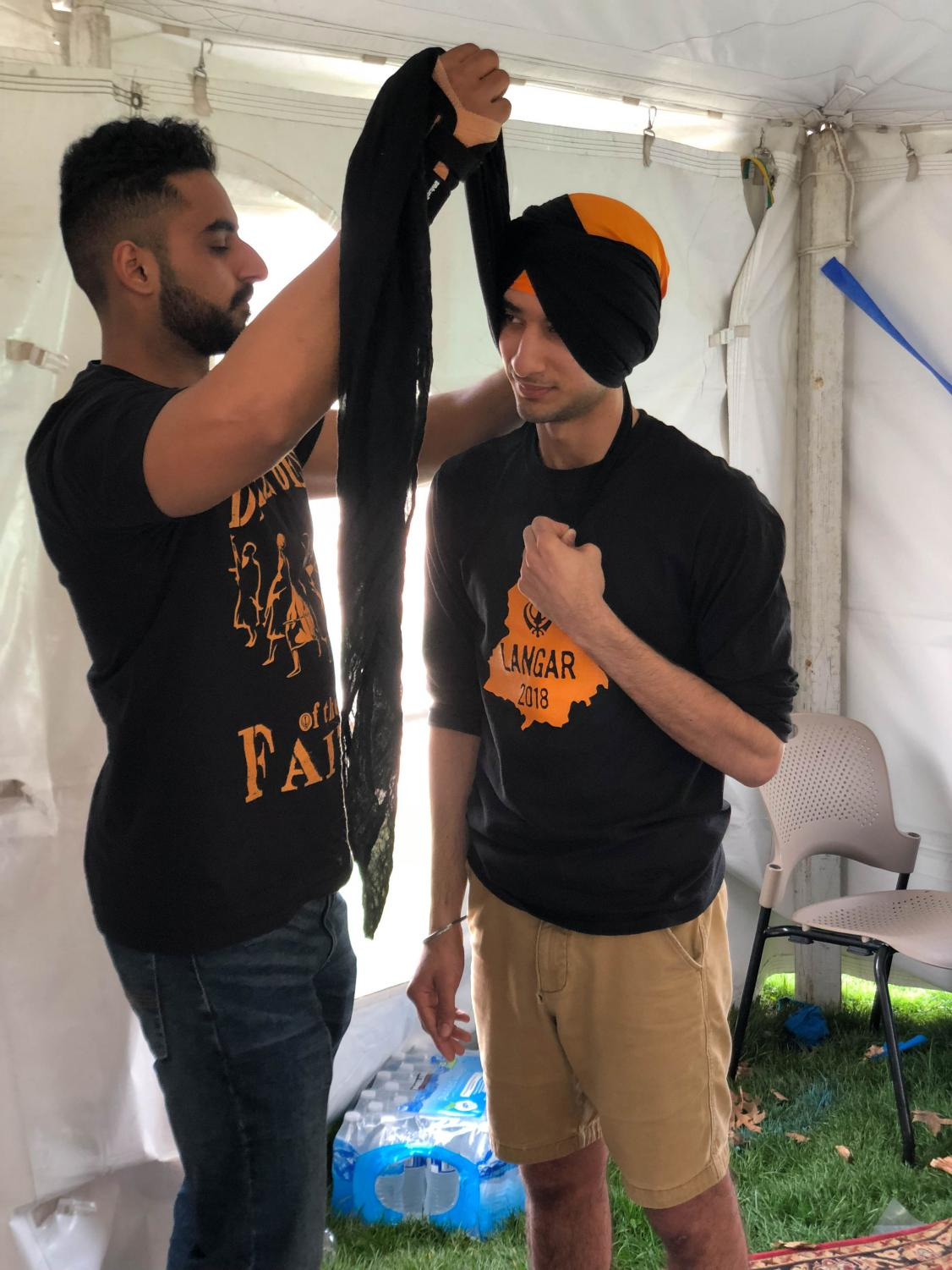 Manjot Dhillon (left) and Paawa Dandona (right) celebrate Asian American and Pacific Islander Month; The month is designed to educate about this culture.