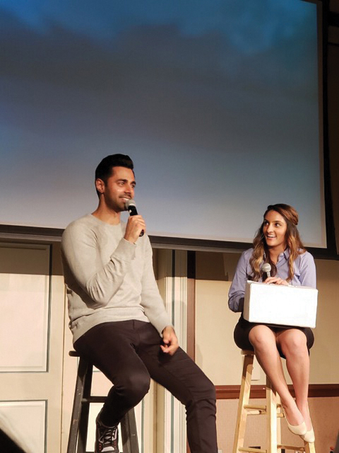 Hasan+Minhaj+%28left%29+answers+questions+from+the+Q%26A+session+during+his+performance+at+the+Illini+Union+%28left%29.+Minhaj+answers+students%E2%80%99+questions+at+a+private+meet+and+greet+after+the+performance+%28top%29.+Students+line+up+at+the+Illini+Union%2C+awaiting+Hasan+Minhaj%E2%80%99s+performance+%28bottom%29.+The+comedian%2C+aside+from+doing+standup%2C+has+been+in+several+films.+